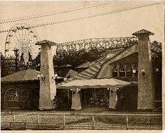 Entrance at Glen Echo Park (early-1900s).