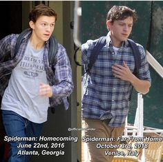 He looks sadder and it's probably because of iw and I'm not crying you are Marvel Actors, Marvel Dc, Baby Toms, Tom Holland Peter Parker, Tommy Boy, Men's Toms, Marvel Memes, Tony Stark, Best Actor