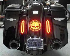 Super badass lights #harleydavidsonbaggersforsale #harleydavidsonstreetglideblack