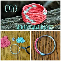 DIY: Seed Bead Wrap Bracelet