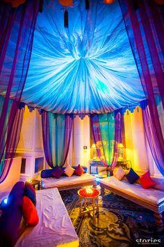 Seating arrangement | Moroccan theme decor #Indianwedding #uniqueideas #decorideas