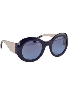 Chanel oversized two-tone sunglasses, $340, Saks Fifth Avenue.