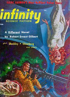 Ed Emshwiller : infinity Science Fiction Feb. 1952
