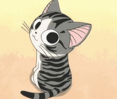 Otaku Calendar - Your calendar for all things anime, manga and Japanese culture related. Chat Kawaii, Kawaii Cat, Kawaii Anime, Gato Anime, Manga Anime, Manga Cat, Illustration Manga, Illustrations, Anime Animals