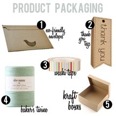 Small Business Sunday: Product Packaging from Book & Bird