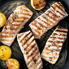 Fresh grilled fish...healthy & perfect for summer!