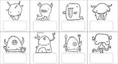 MONSTRES PROJECTE / MONSTRUOS PROYECTO - Jessica Bujalance - Álbumes web de Picasa Crafts For Kids, Arts And Crafts, Conte, Snoopy, Album, Teaching, Comics, Halloween, School