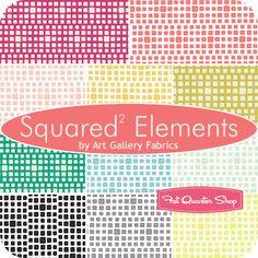Squared Elements Fat Quarter Bundle Art Gallery Fabrics