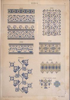 Creative Embroidery, Folk Embroidery, Embroidery Patterns Free, Embroidery Stitches, Cross Stitch Patterns, Embroidery Designs, Stitch Crochet, Fabric Rug, Cross Stitch Samplers