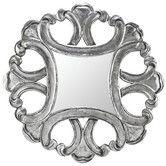 Found it at Wayfair - Silverton Mirror in Distressed Aged Silver