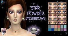 JomsimsCreations : STAR POWDER Eyeshadows.
