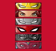 Eyes of Iron (#TeamIronMan)