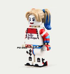 Collectible building block toy mini action figure model : Harley Quinn2 #ROBO
