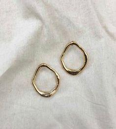 "18K Gold Filled 1.77/"" Boucles d/'oreilles Ruby Pétale Topaz Chaîne Gemme Eardrop HOOP cadeau"