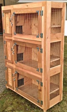 My dream is to have several of these for my bunnies. They would be living in style.