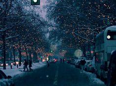 Invierno+lucecitas=