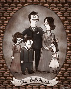 The Belcher Family, circa 1900. (via amymariestad)