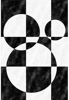 Handmade rug with geometric shapes MOD Lay on You Collection By GIOPAGANI design Giovanni Pagani