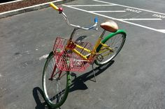 A Google bicycle