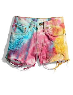 These fun cutoffs will look ah-mazing over a sporty one-piece bathing suit! Fresh Tops shorts MORE: The Hottest One-Piece Bathing Suits    - Seventeen.com