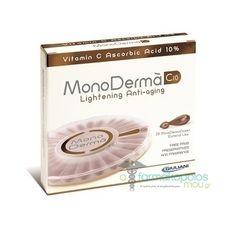 Pharmaq MonoDerma C10  ΗMONODERMA®C10περιέχειKαθαρή ΒιταμίνηC(L-Ασκορβικό Οξύ) σε περιεκτικότητα 10%.  Η Βιταμίνη C αποτελεί απαραίτητο θρεπτικό συστατικό, το οποίο καθώς δεν παράγεται απ...