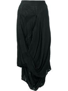 Vivienne Westwood Anglomania draped midi skirt