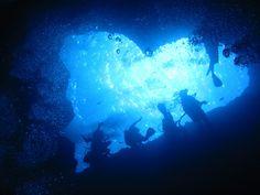 ハートの穴(ブルーホール) グアム大好き!!(グアム旅行のためのグアム旅行ブログ)
