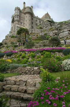 Photo: St Michael's Mount, Cornwall, England