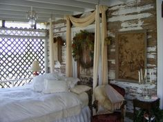 "Rustic Chic Sleeping Porch from DIY user ""niarainivysky"""