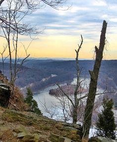 Winter view - Delaware Water Gap by joiseyshowaa, via Flickr