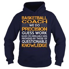 Awesome Tee For Basketball Coach