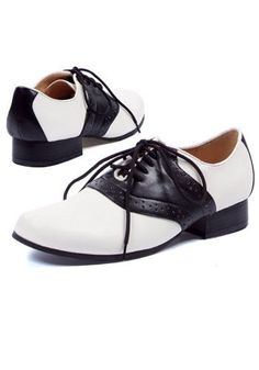 Quality 1950s Costumes for Sale  Poodle Skirts, Car Hop Waitress  Womens 50s Saddle Shoes $24.99