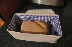textile bag for storing bread