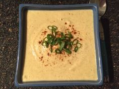 paleo cauliflower and broccolli soup Roast Broccoli And Cauliflower, Broccoli Soup, Roasted Garlic Cloves, Paleo Soup, A Food, Food Processor Recipes, Soups, Cooking Recipes, Stuffed Peppers