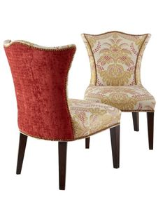 Glenwick Side Chair By Jeff Zimmerman Collection Key City At Horchow
