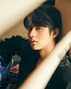 His eyes are telling you something. Cute Asian Guys, Asian Boys, Bright Wallpaper, Men Abs, Korean Boys Ulzzang, Bright Pictures, Chinese American, Dear Future Husband, Thai Drama