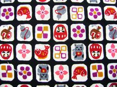 Would make a beautiful washi paper for origami ... Japanese Fabric Half Yard Cotton Fabric by FromJapanWithLove, $8.50