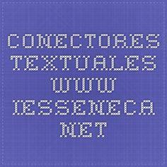 CONECTORES TEXTUALES  www.iesseneca.net