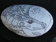 rock art 004 | by Renee Hay..untainted dragon!