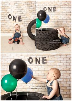 First Birthday pics. Car Themed Parties, Cars Birthday Parties, Race Car Birthday, Boy First Birthday, 1st Birthday Pictures, Birthday Ideas, 1st Birthday Photoshoot, First Birthdays, Baby Cost