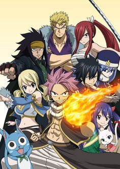"nice Latest ""Fairy Tail"" Anime Visual Accompanied by Event News"