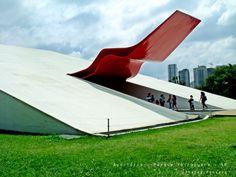 Auditório do Ibirapuera  Obra de Oscar Niemeyer - São Paulo - Brasil