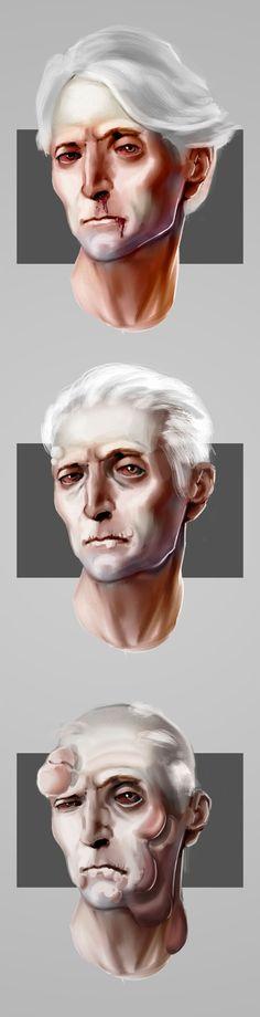 Plague symptoms for uni project - 2/10/21 Video Game Artist, Concept, Statue, Uni, Sculptures, Sculpture