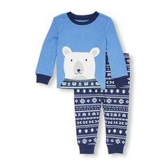 680173b0b4 Baby And Toddler Boys Long Sleeve Polar Bear Top And Fair Isle Print P  Niños Pequeños