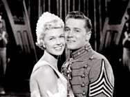 The West Point Story, 1950, James Cagney, Virginia Mayo, Doris Day, Gordon MacRae, Gene Nelson, Alan Hale Jr.