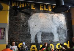 Pies & Pints' new locations in Worthington, Ohio, and Morgantown, along with all its future locations, will feature recreations of this mural from its Charleston store. Company president Rob Lindeman said the mural is part of Pies & Pints company culture now.