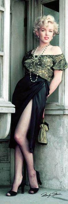 """Marilyn Monroe - """"Bus Stop"""", 1956. °"""