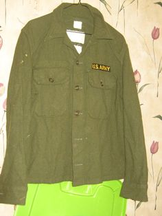 WWII  authentic    US ARMY Uniform Olive by Linsvintageboutique, $50.00