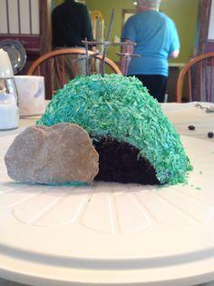 Empty tomb cake!!!