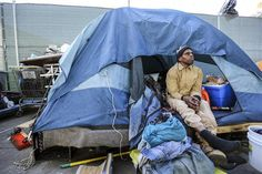 Image result for homeless tent cities